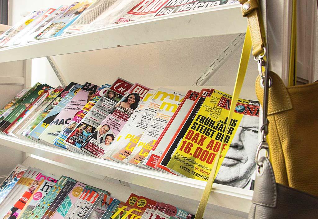 Große Auswahl an aktuellen Magazinen