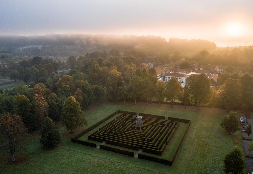 Labyrinth im Gräflichen Park