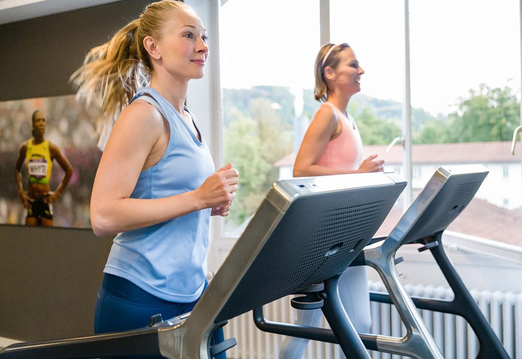 Fitnessraum im Gräflicher Park Health & Balance Resort