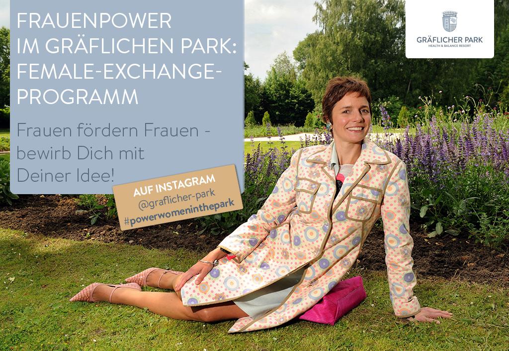 Female-Exchange-Programm im Gräflicher Park