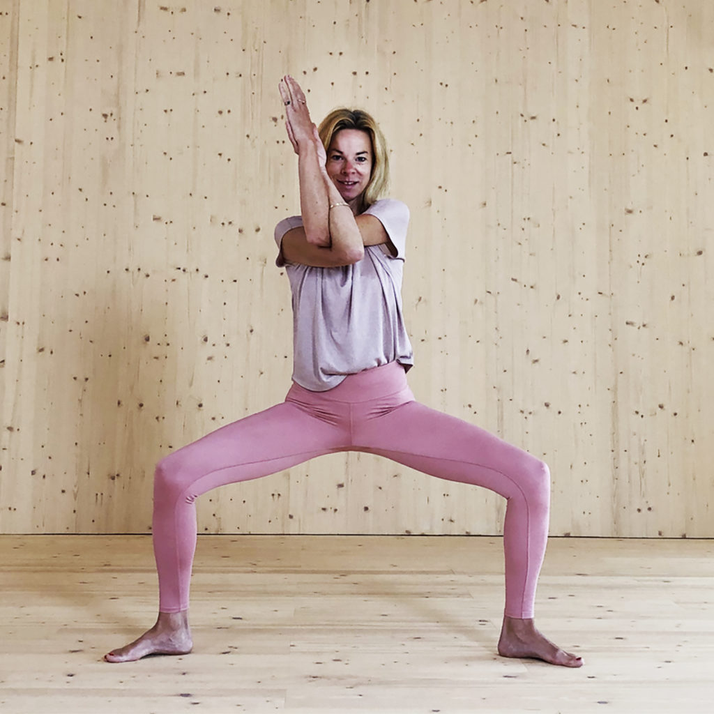 Yoga mit Kristin Rübesamen