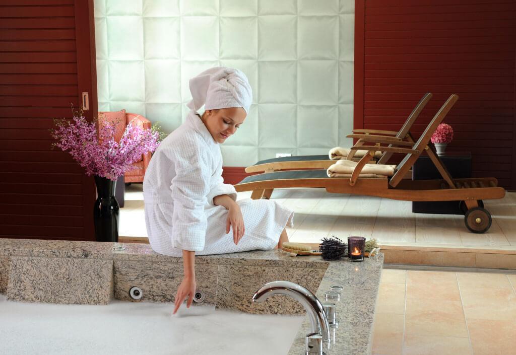 Bad in Luxus Spa Suite