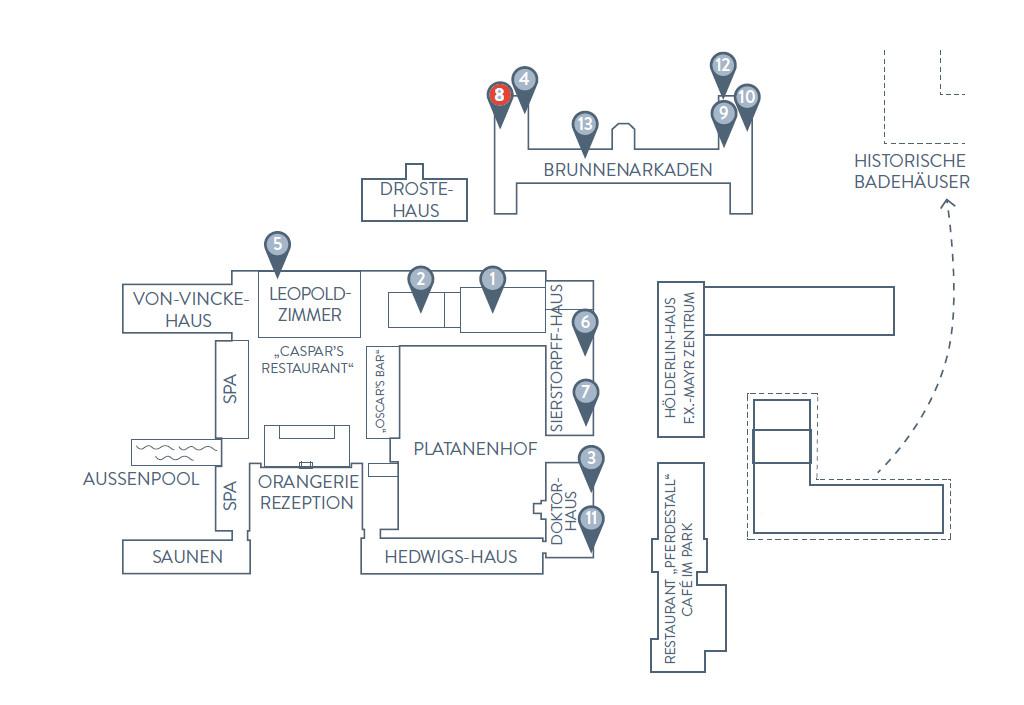 Standort Tagungsraum Louis