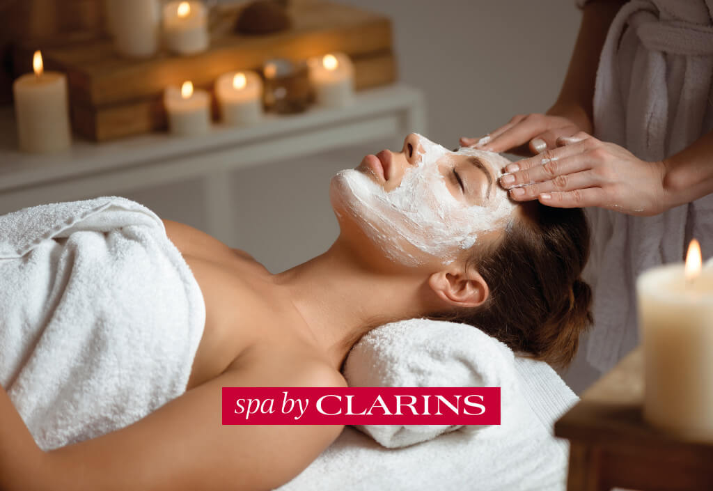 Wellnessanwendung Spa by Clarins